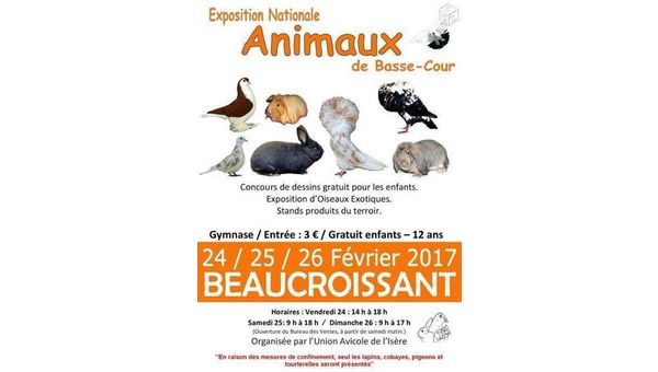 EXPO NATIONALE AVICOLE 2017 A BEAUCROISSANT